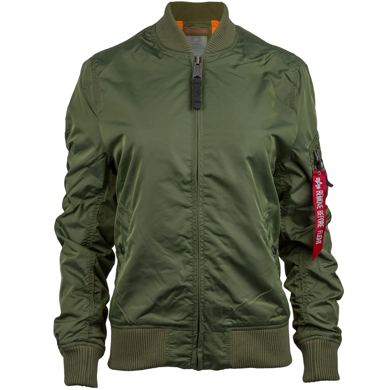 Alpha Industries Ladies Jacket MA-1 TT olive