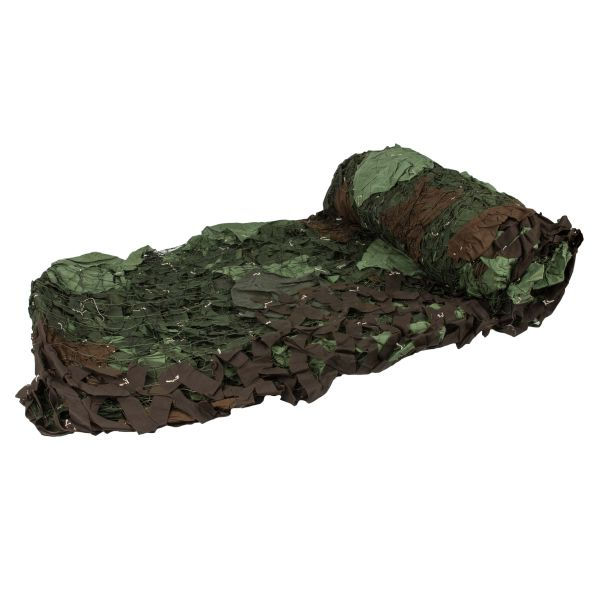 Camouflage Netting Czech 6 x 6 Used