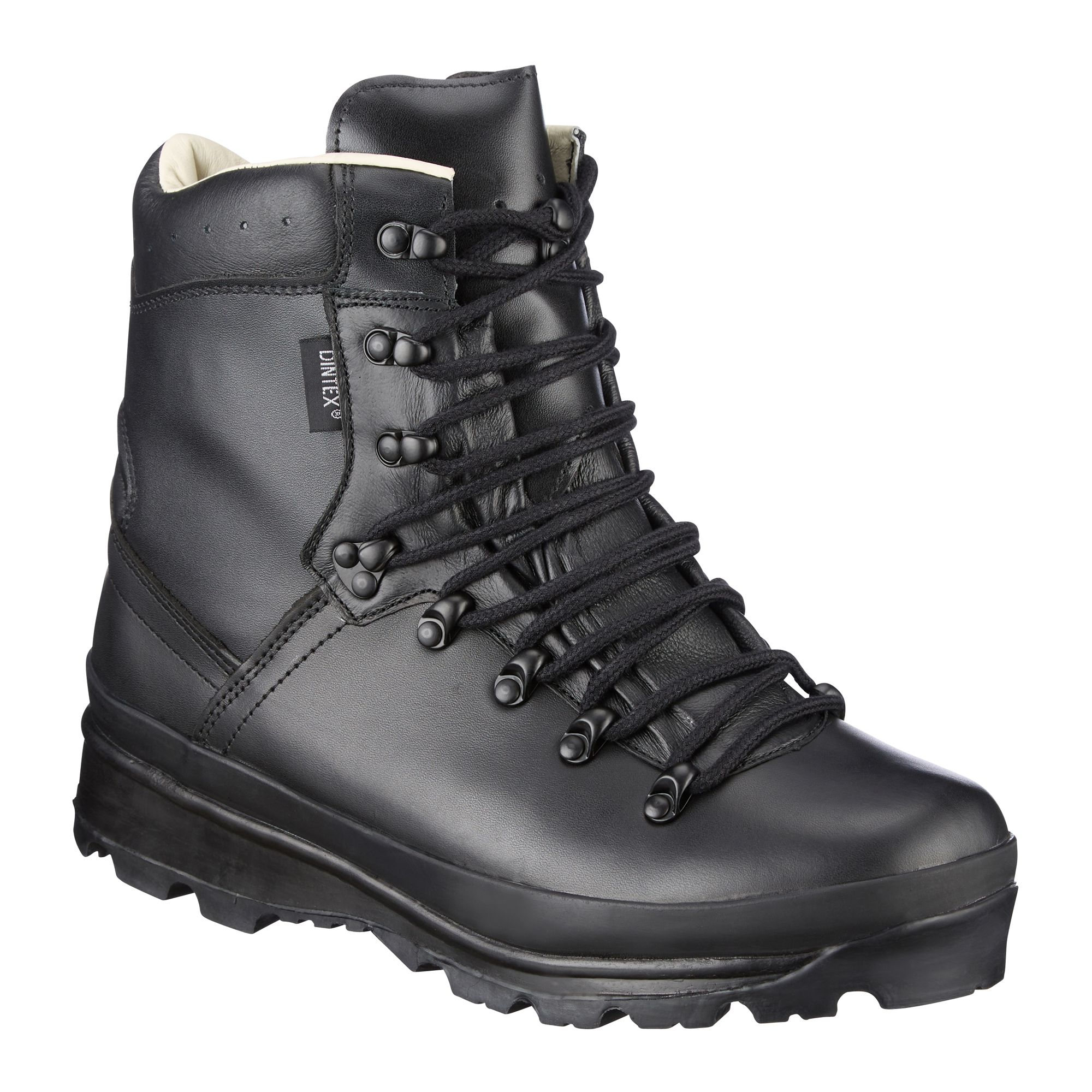 Stiefel schwarz leder 43 Soldat Armee style Boots