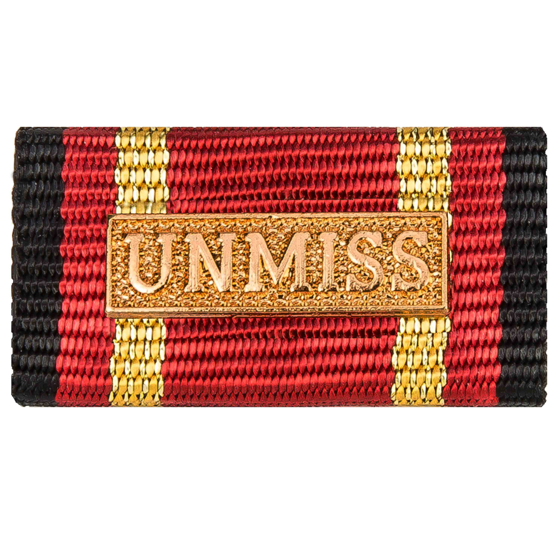 Service Ribbon Deployment Operation UNMISS gold
