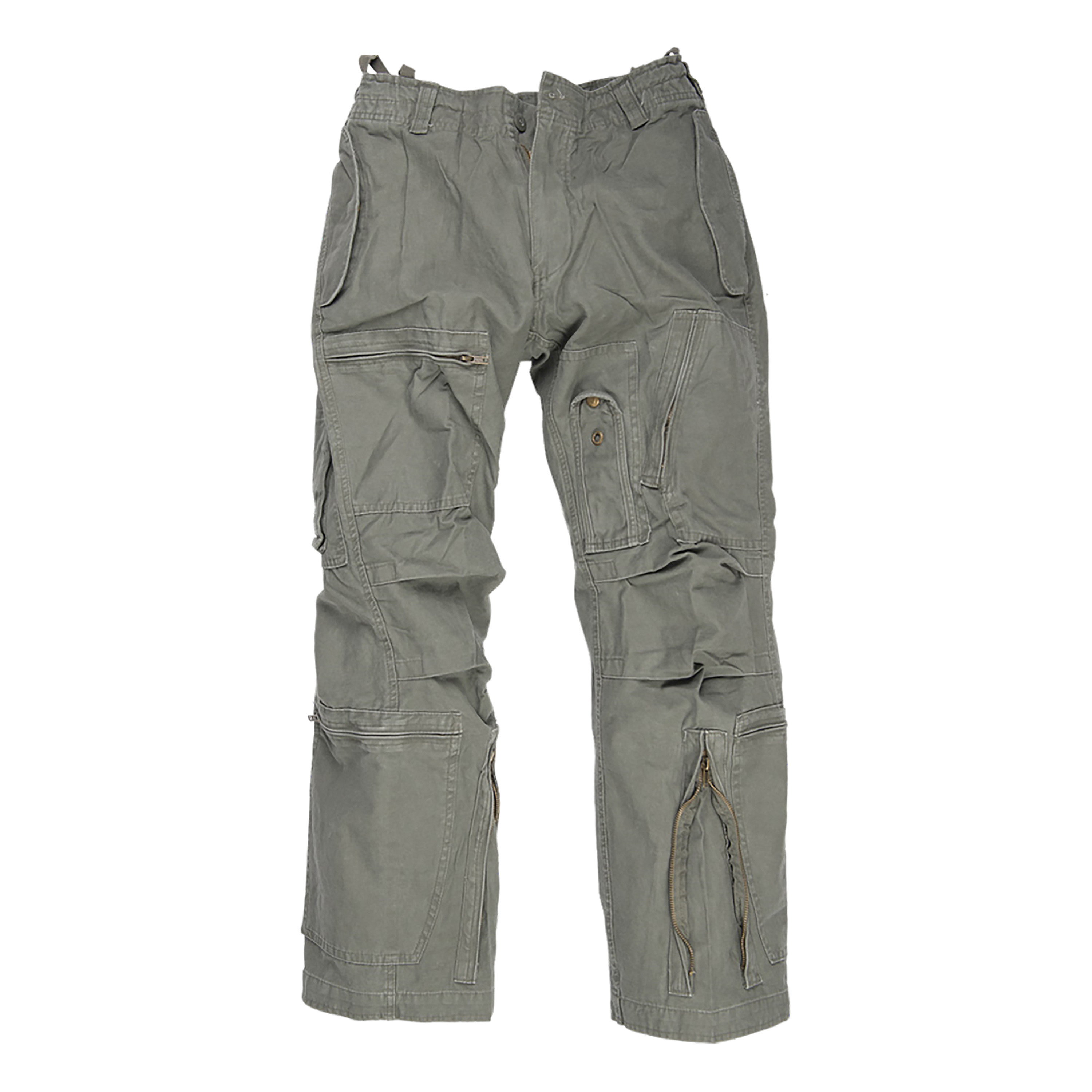 Aviator Trousers Washed olive