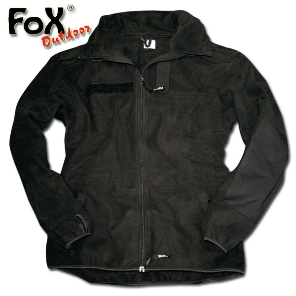 Fleece Jacket Alpine Import black
