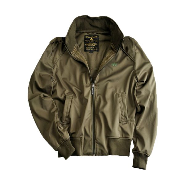 Alpha Softshell Jacket Hawk olive