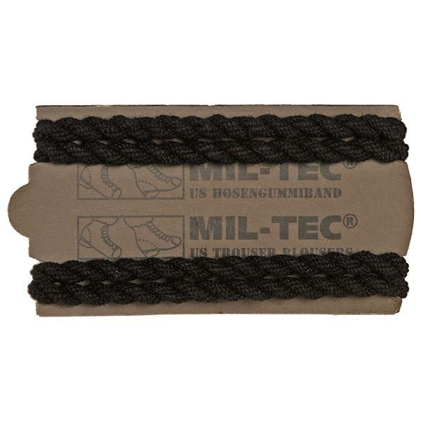 Mil-Tec US Elastic Braided Boot Blousers 2 Pairs black