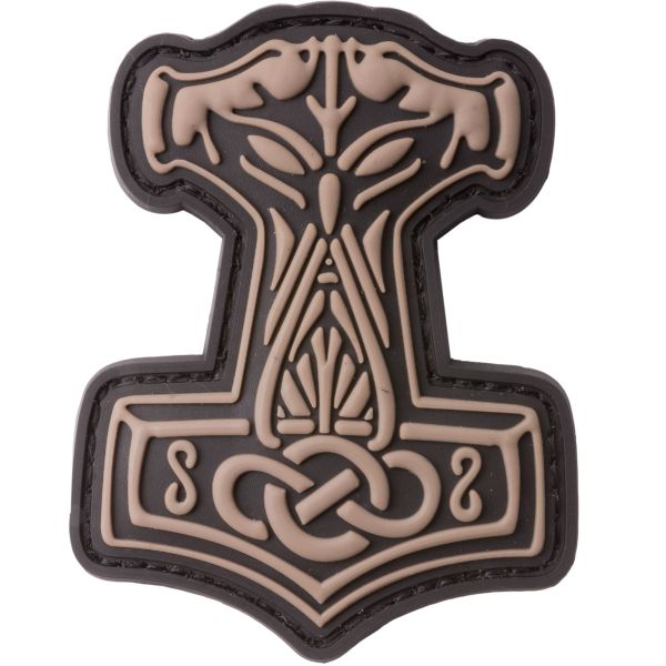 JTG 3D Patch Thors Hammer coyote brown
