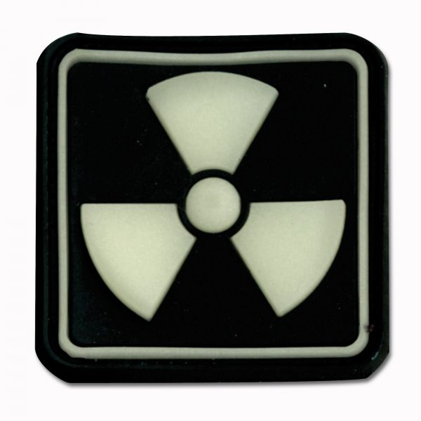 3D-Patch Radioactive luminescent