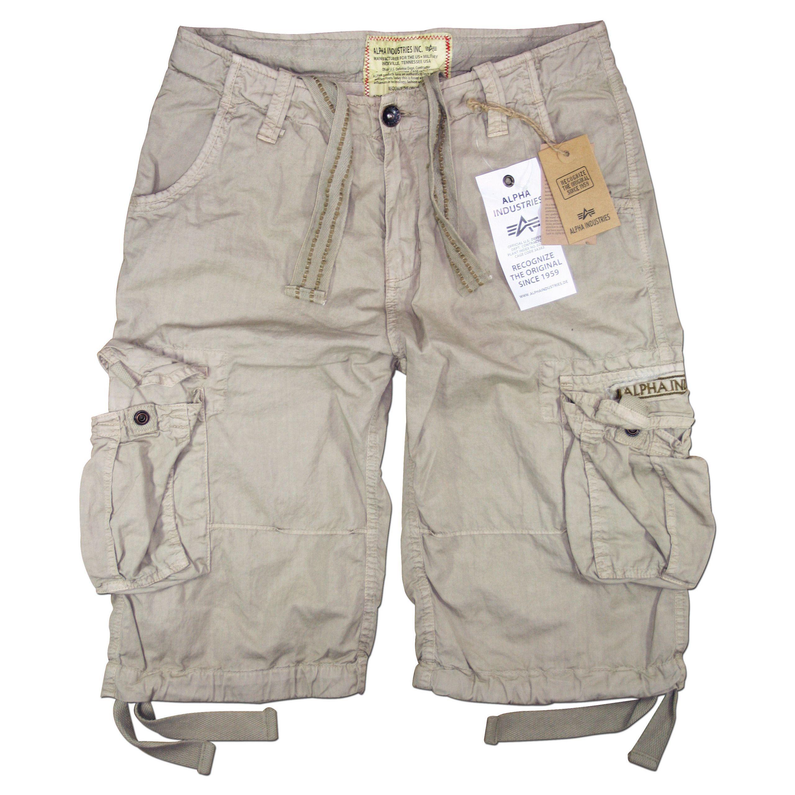 Alpha Industries Jet Short Shorts Hose Black Camo