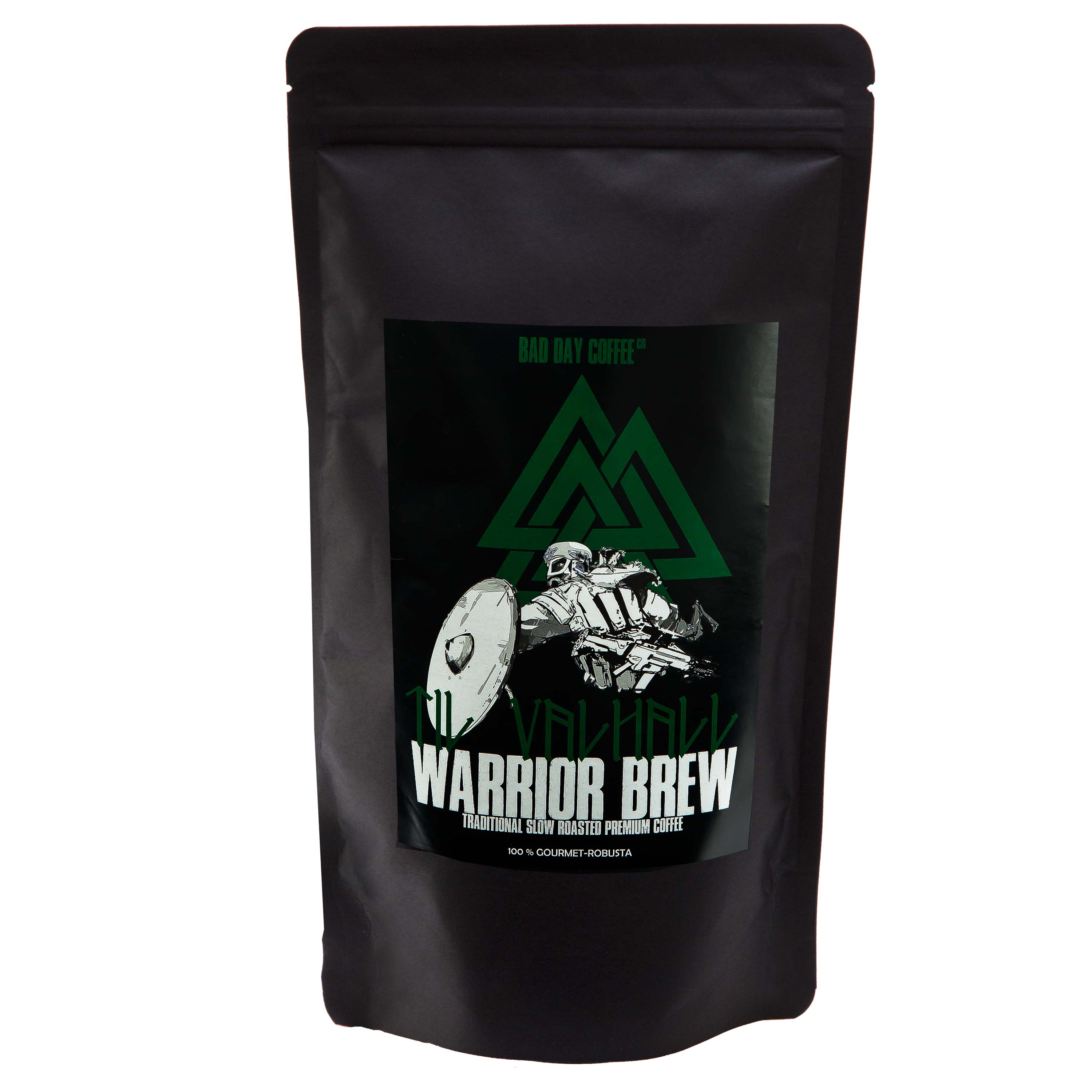 Bad Day Coffee Til Valhall Warrior Brew Whole Bean 500 g