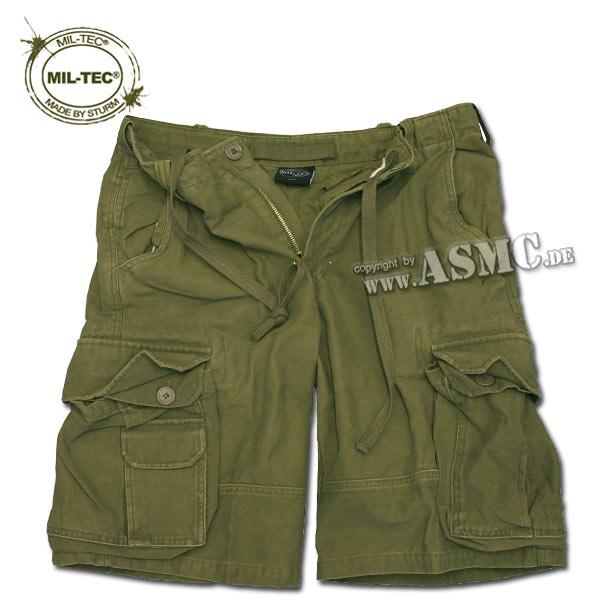 Aviator Shorts Satin washed olive