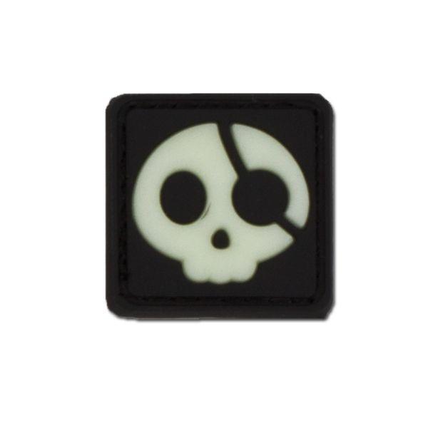 3D-Patch Halloween Pirate luminescent
