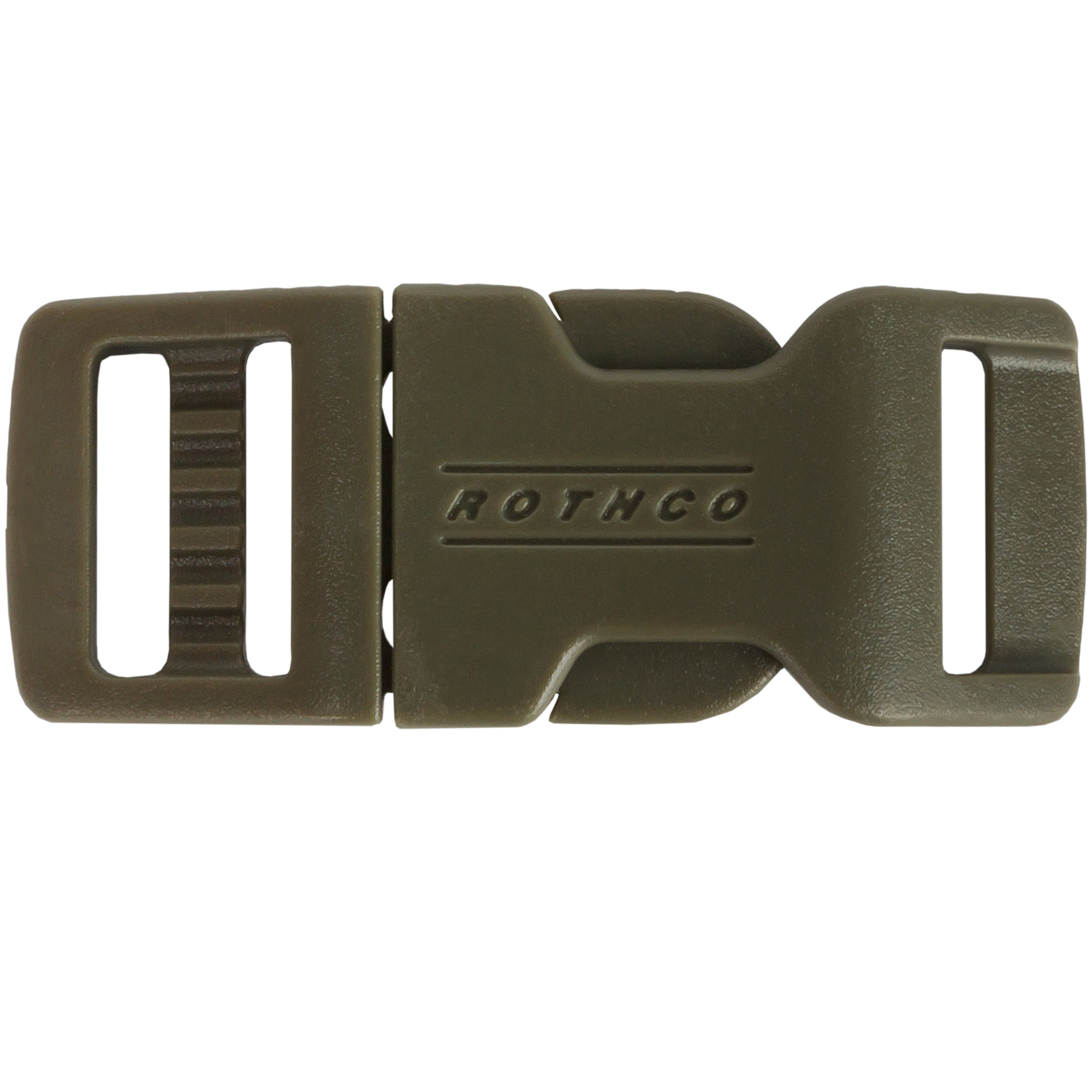Rothco 1/2 Side Release Clip Closure olive
