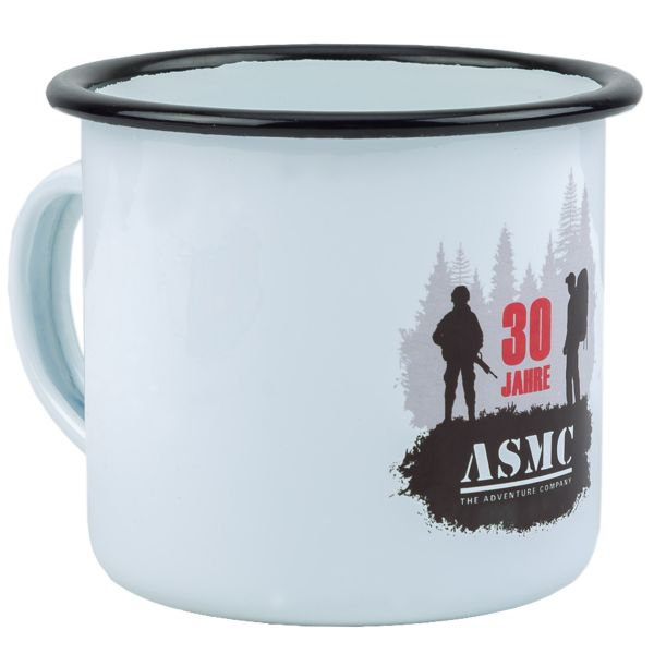 Bad Day Coffee Special Emaille Tasse ASMC 30 Jahre