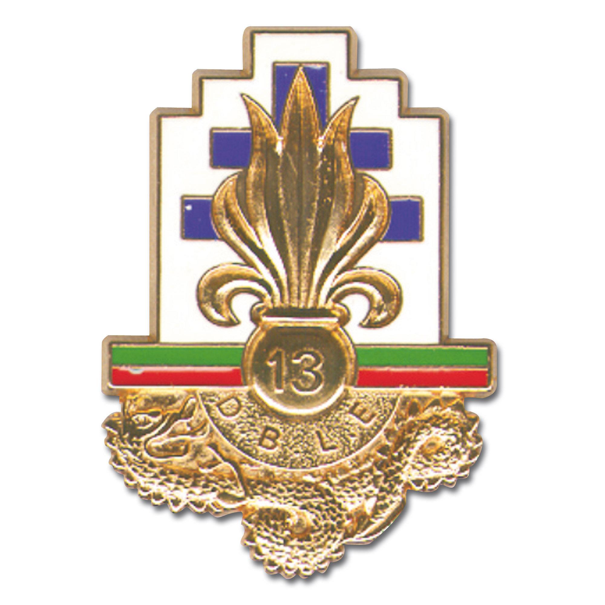 French Insignia Legion 13.DBLE