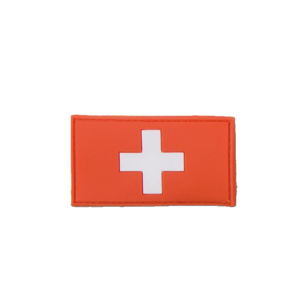 3D-Patch Swiss Flag full color