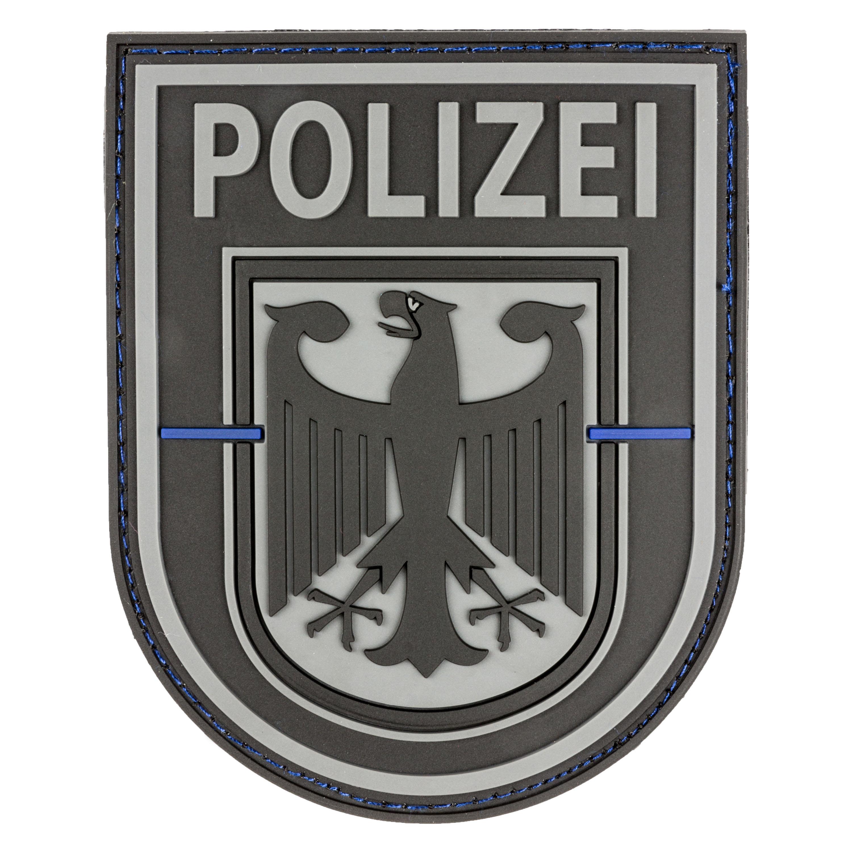 3D Patch Bundespolizei Thin Blue Line swat