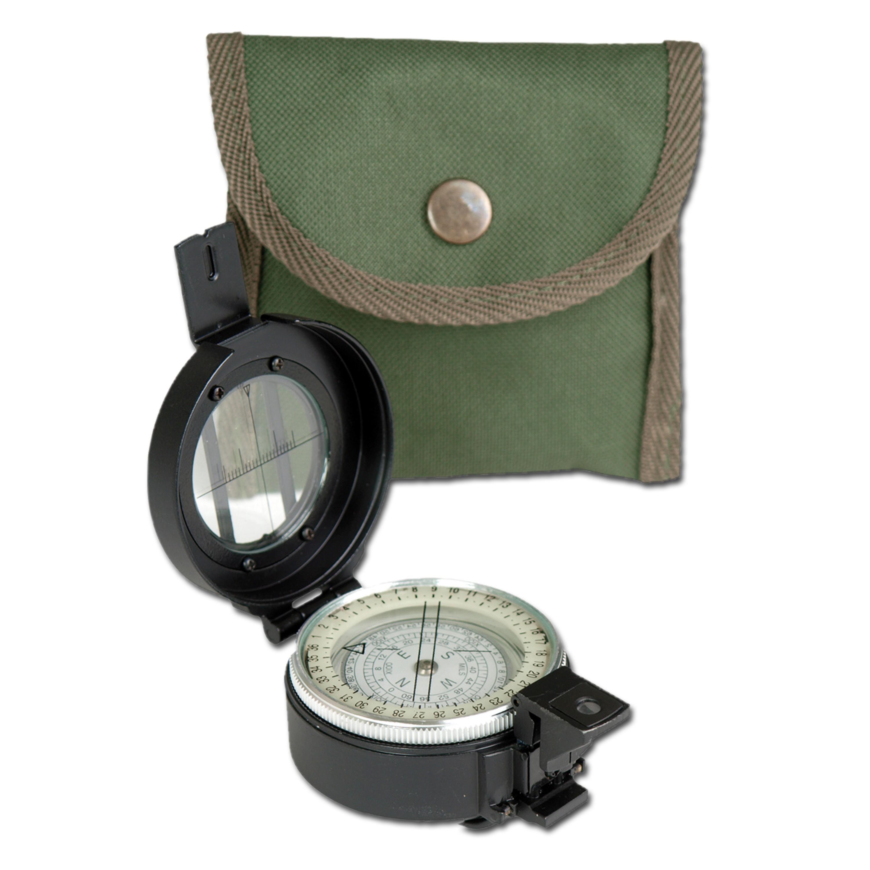 British Lensatic Compass Metal Reproduction
