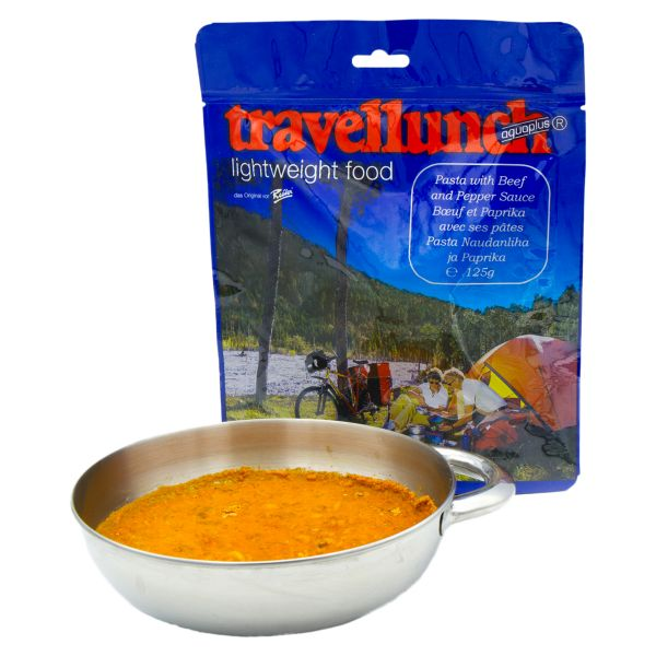 Travellunch Noodles with Beef and Paprika Sauce