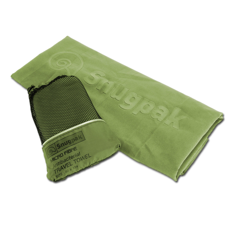 Snugpak Travel Towel olive green X-large