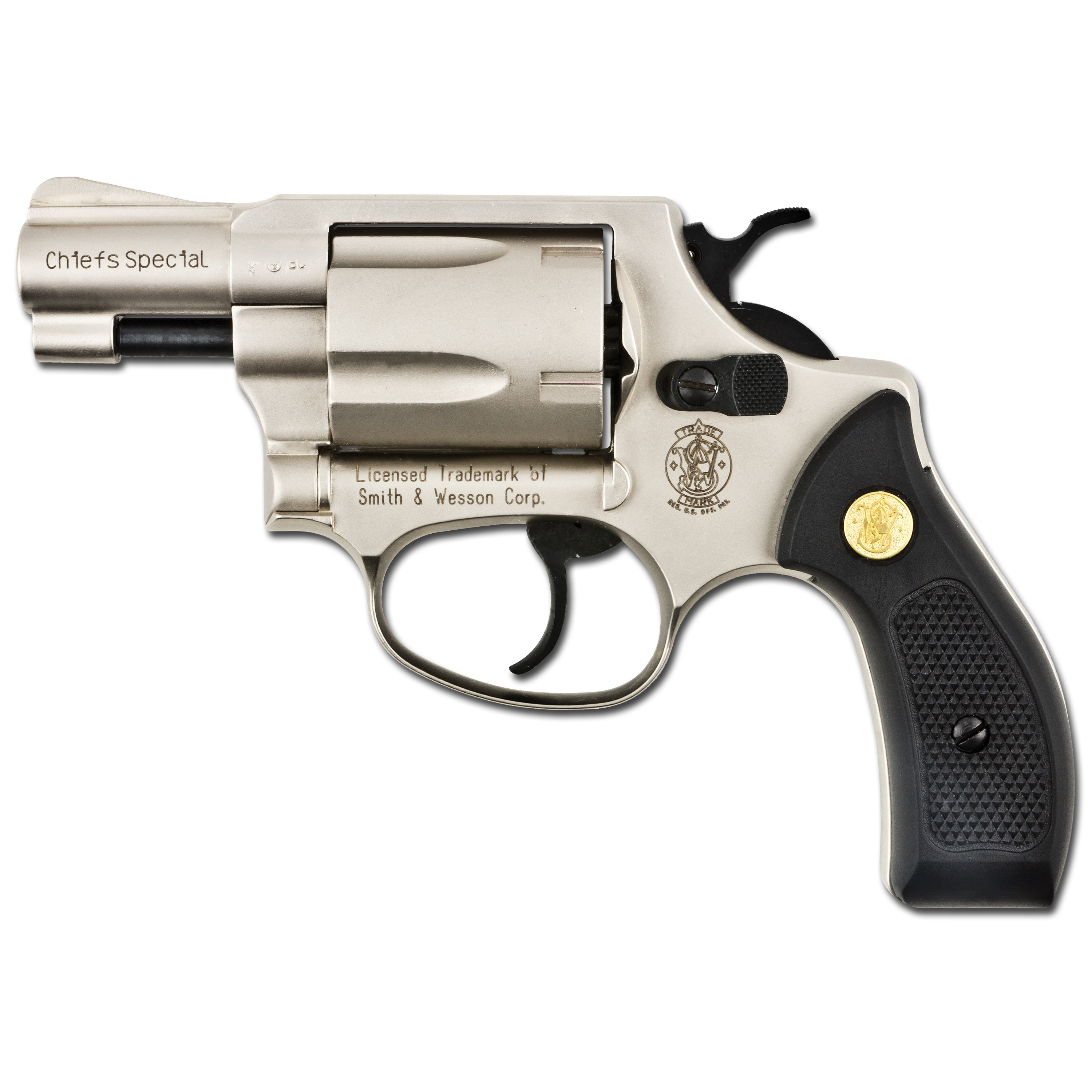 Revolver SW Chiefs Special nickel plated