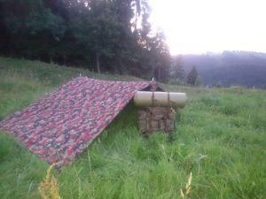 Biwak mit BW Kampfrucksack
