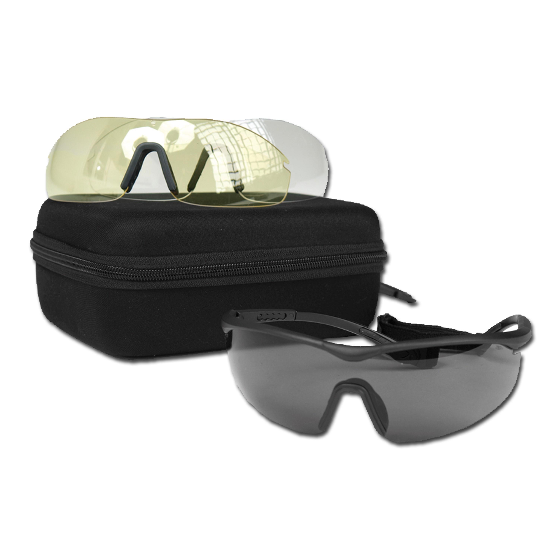 Mil-Tec Safety Glasses-Set ANSI EN 166