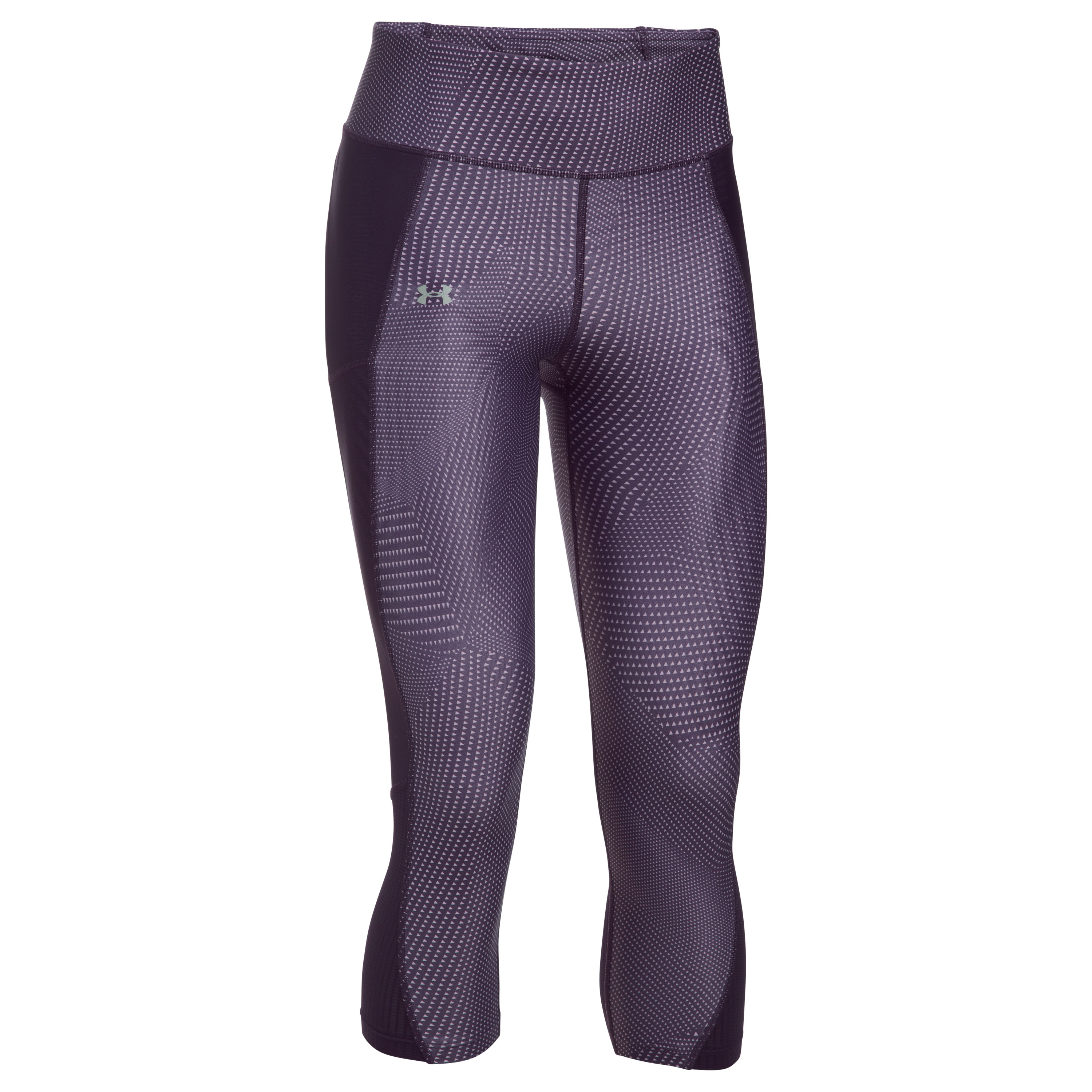 Under Armour Fitness Ladies Fly By Capri Pants purple