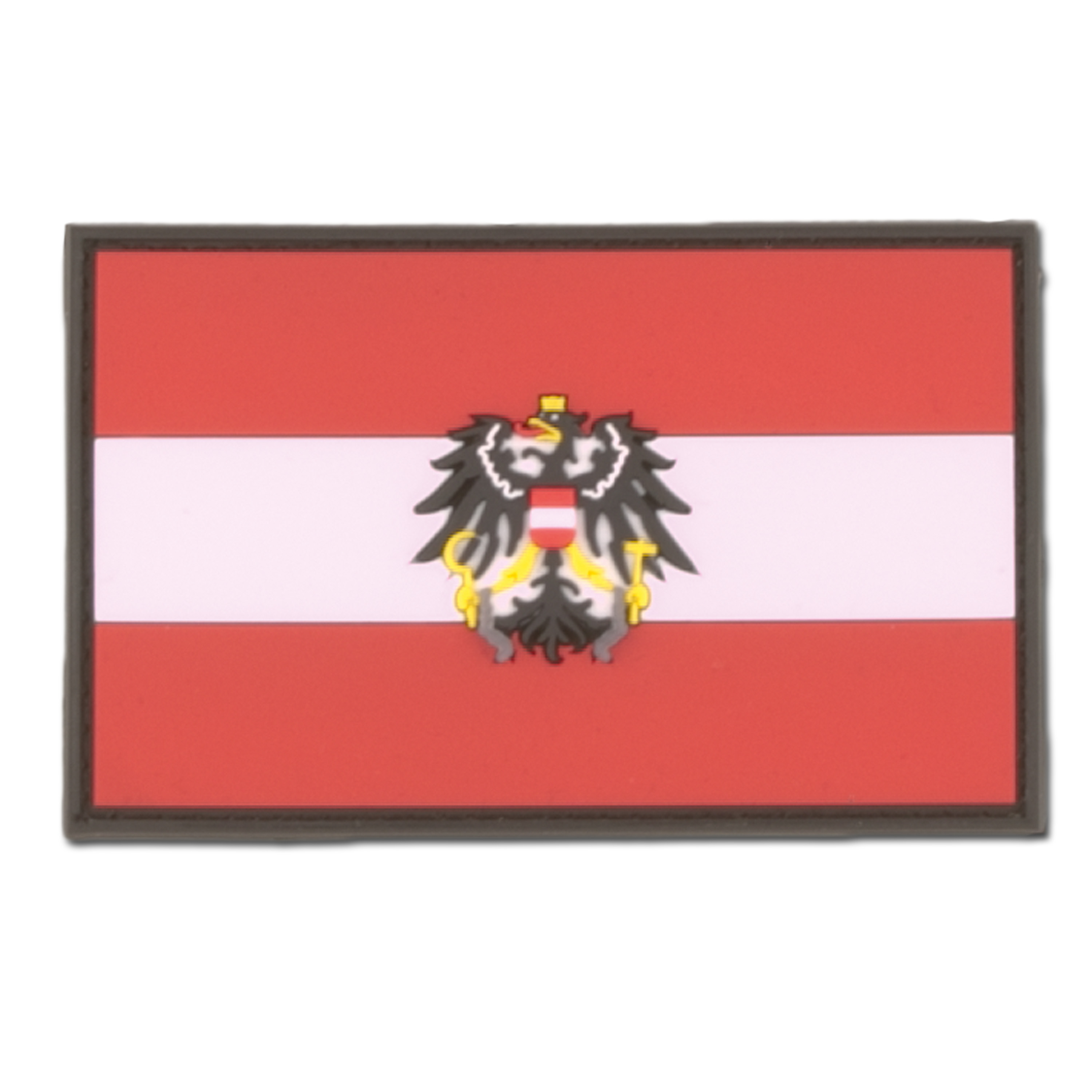 3D Patch Austria with Coat of Arms