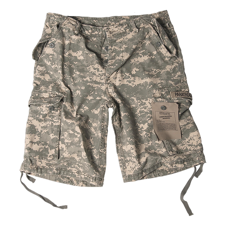 Paratrooper Shorts Washed AT-digital