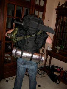 sac à dos combat