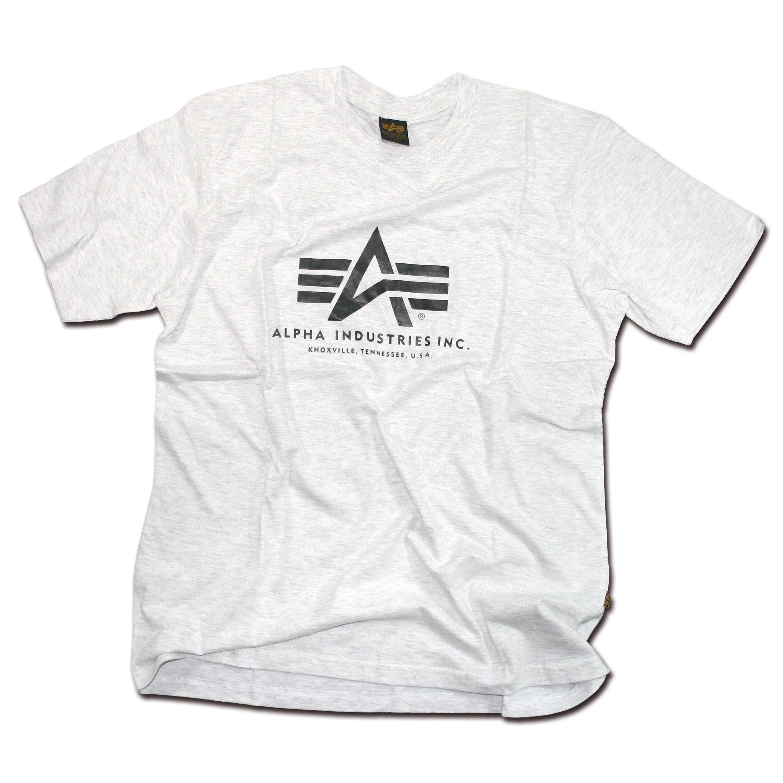 T-Shirt Alpha Basic gray