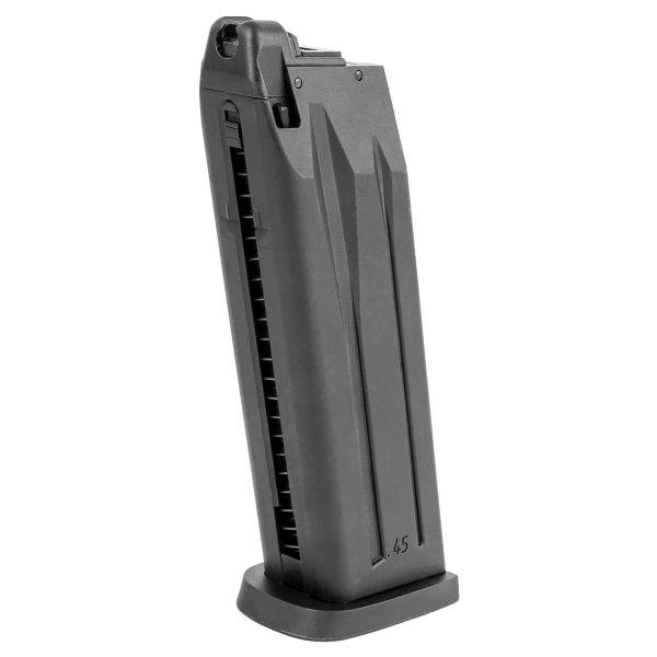 Replacement Magazine Heckler & Koch USP .45 Gas 1.0 J black