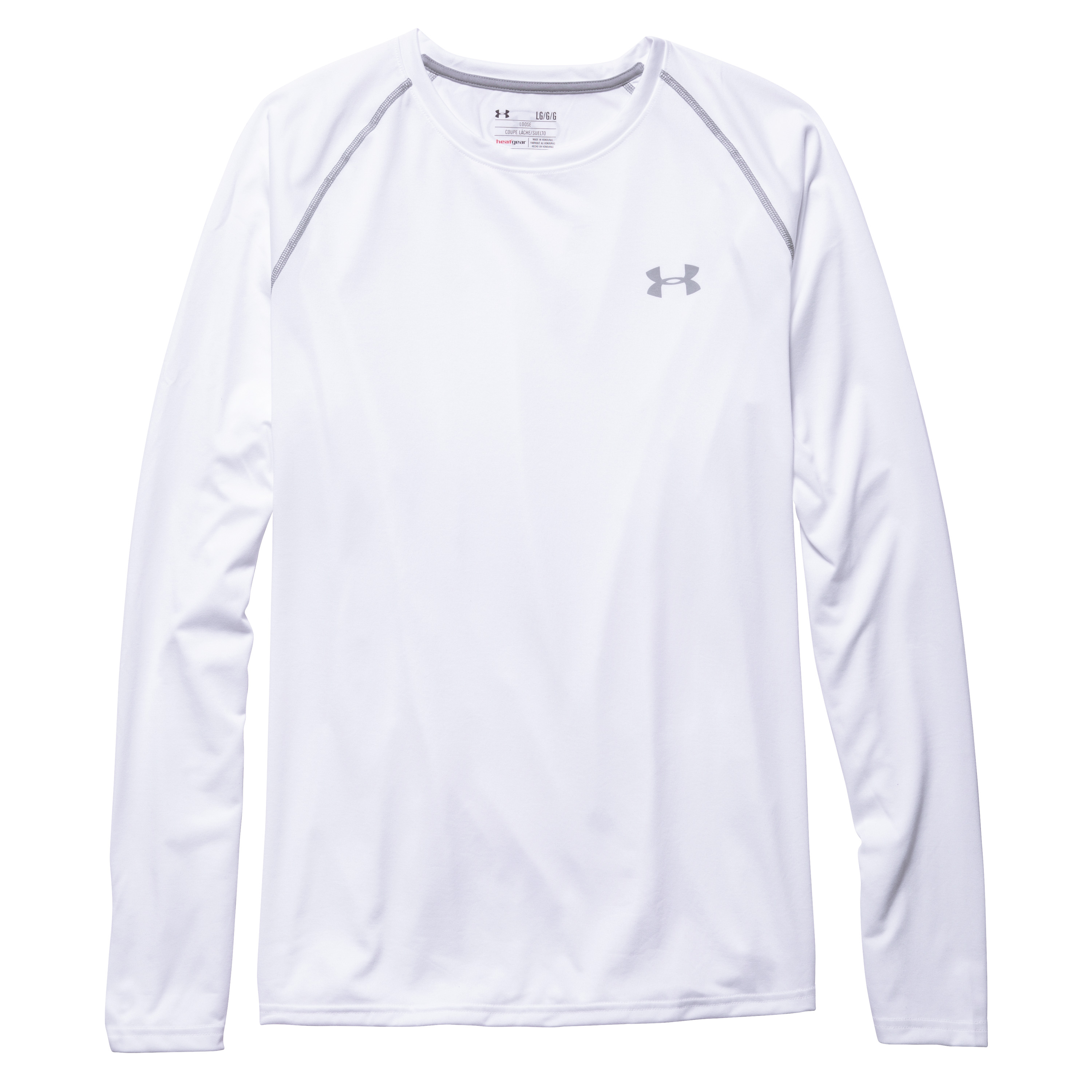 Under Armour Long Arm Shirt I Will Tech Tee white