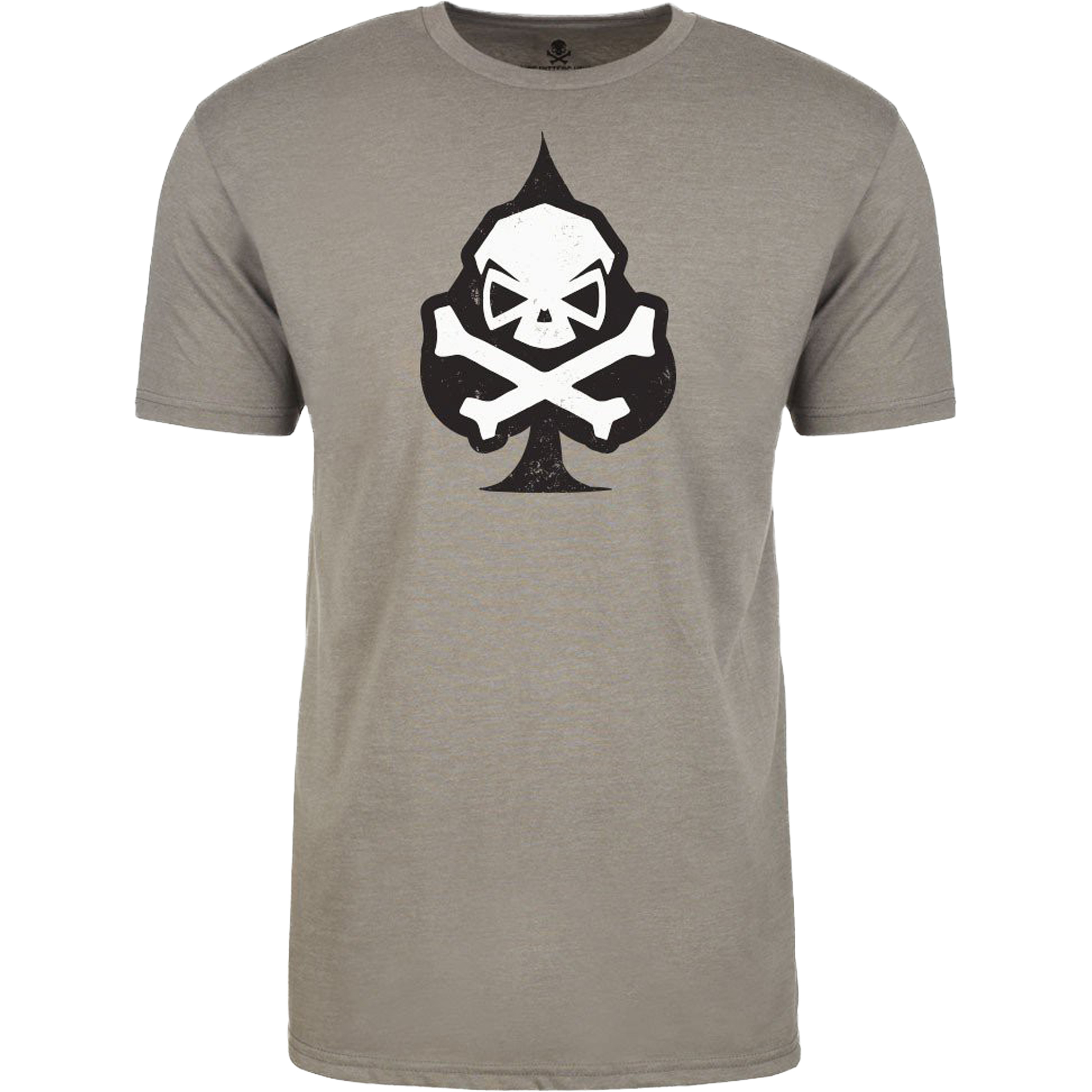 Pipe Hitters Union T-Shirt Ace of Spades gray
