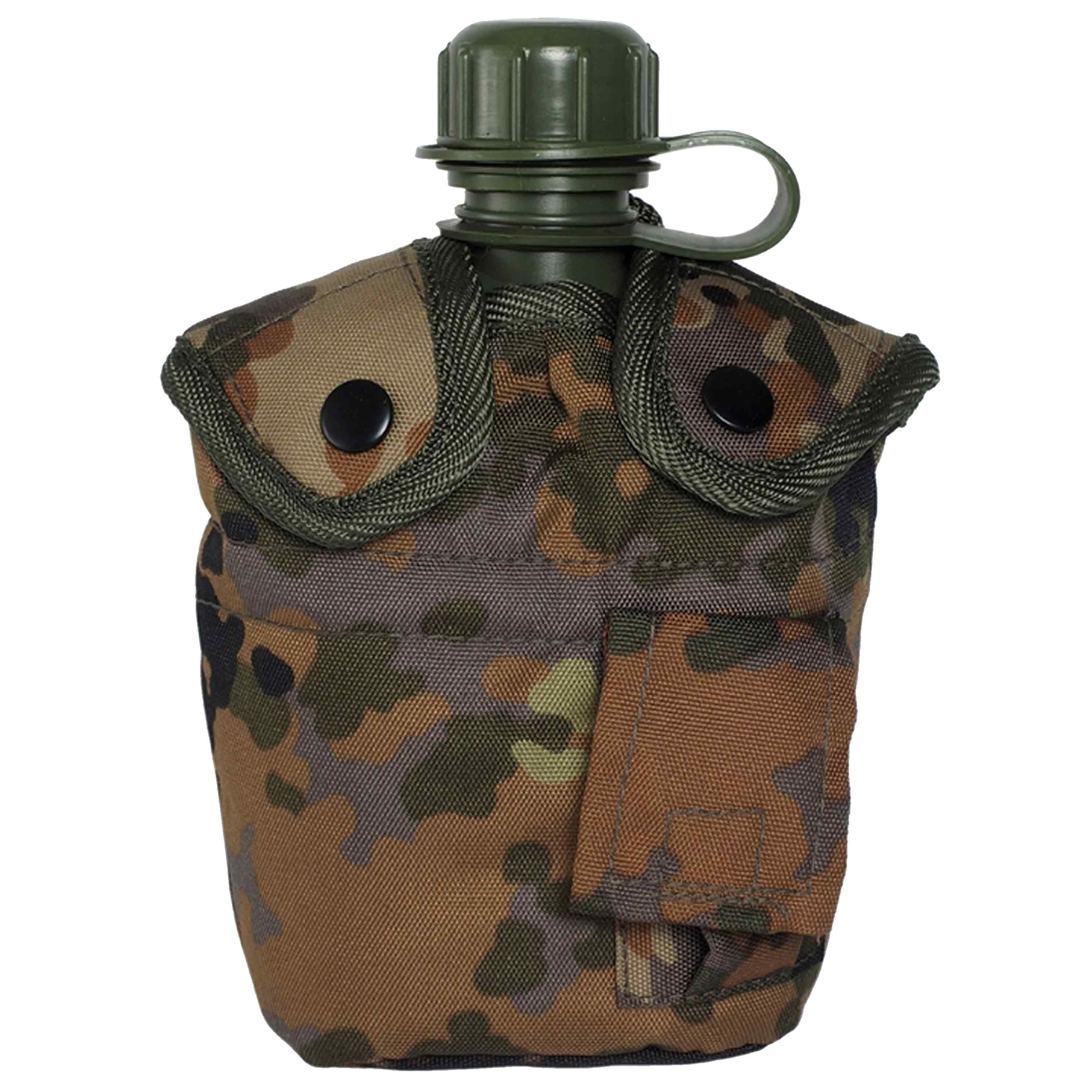 Canteen 1 qt. With Cup And Cover flecktarn