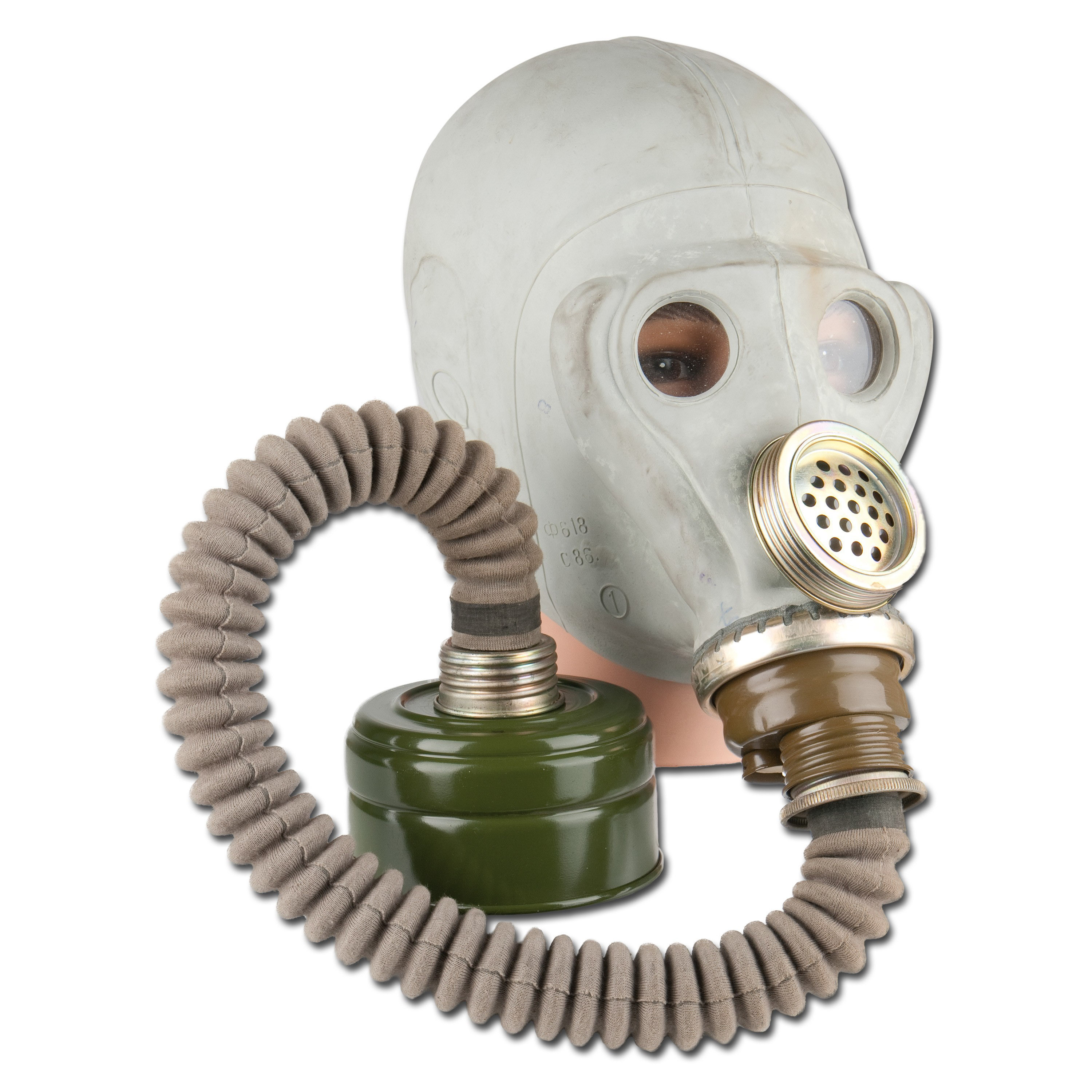 Russian Gas Mask SMS