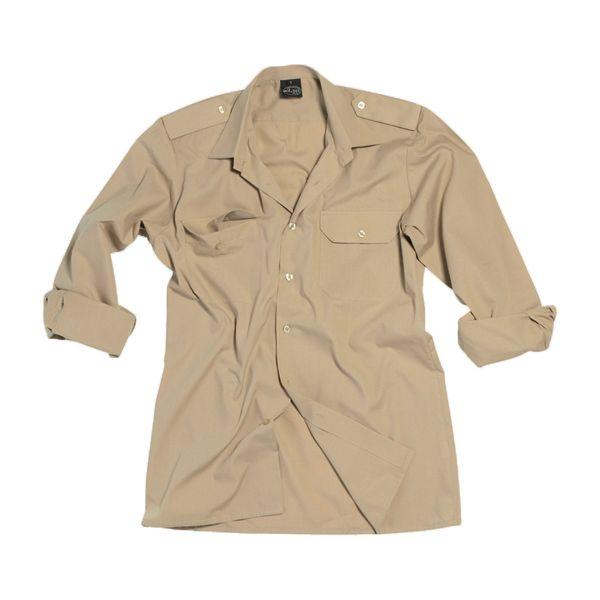 Service Shirt Long Sleeve khaki
