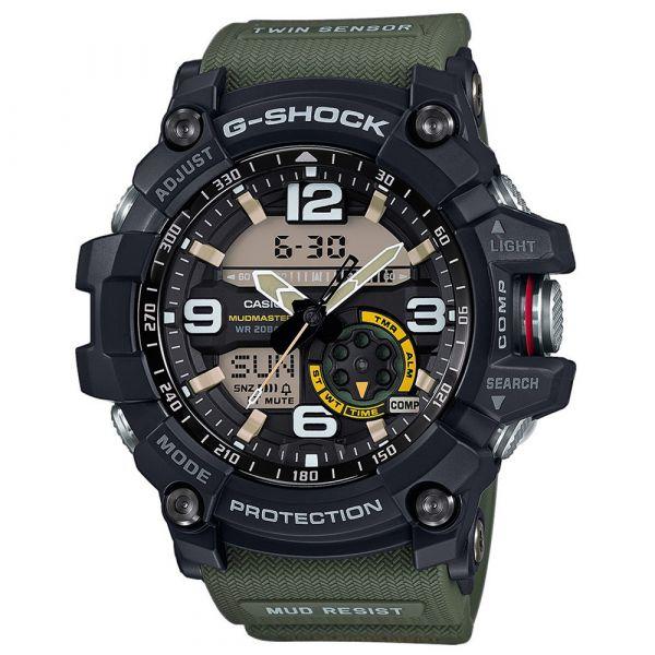 Casio Watch G-Shock Mudmaster GG-1000-1A3ER black/olive