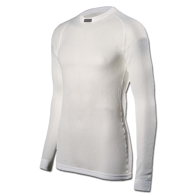 Brynje Under Shirt Long Arm White
