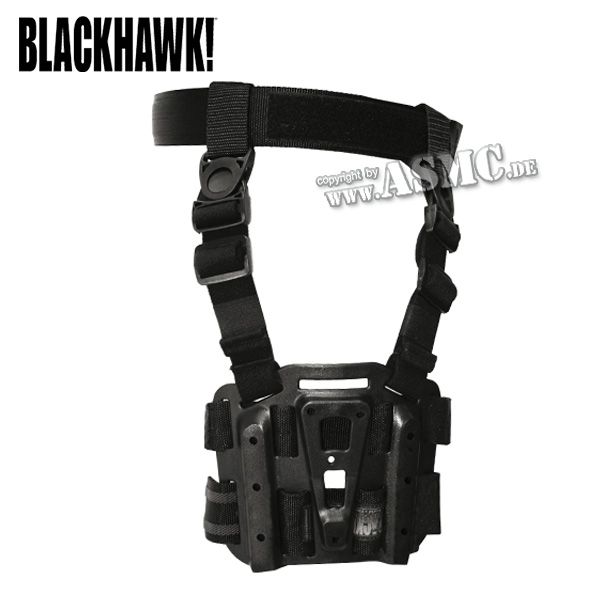 Blackhawk CQC Tactical Holster Platform black