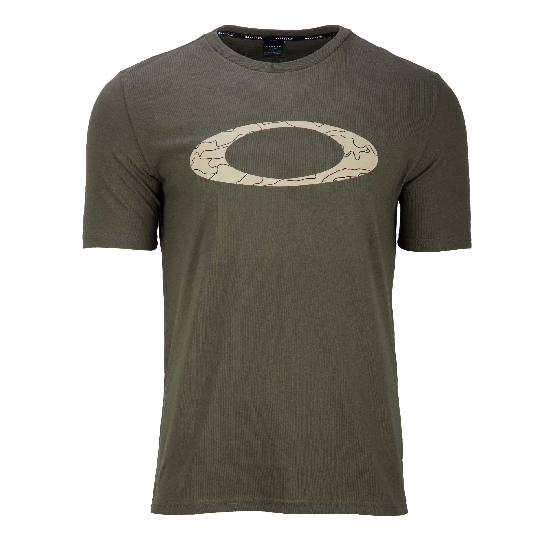 Oakley T-Shirt Ellipse Line Camo dark brush