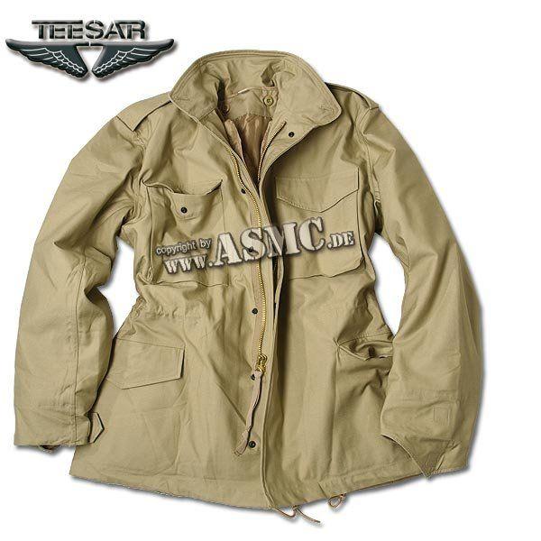 Field Jacket M-65 Teesar khaki