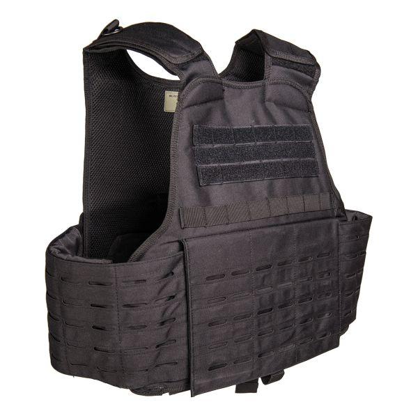 Laser Cut Carrier Vest black