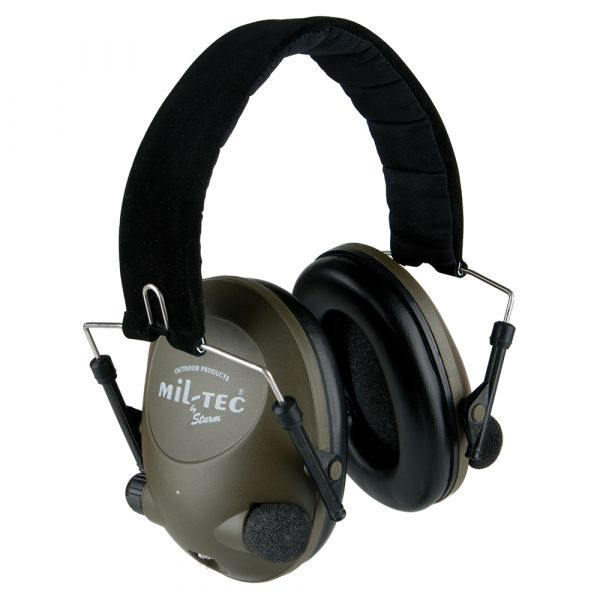 Electronic Hearing Protector Mil-Tec olive