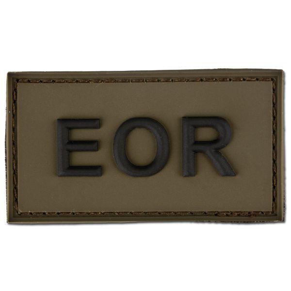 3D-Patch EOR - Explosive Ordnance Reconnaissance olive/black