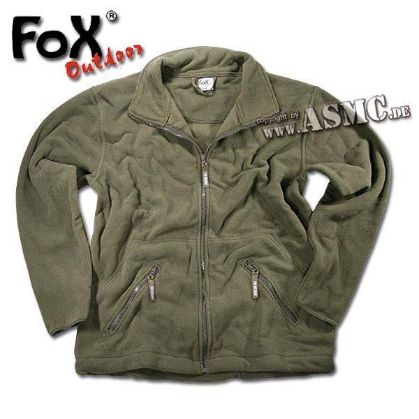 Fleece Jacket Arber olive green