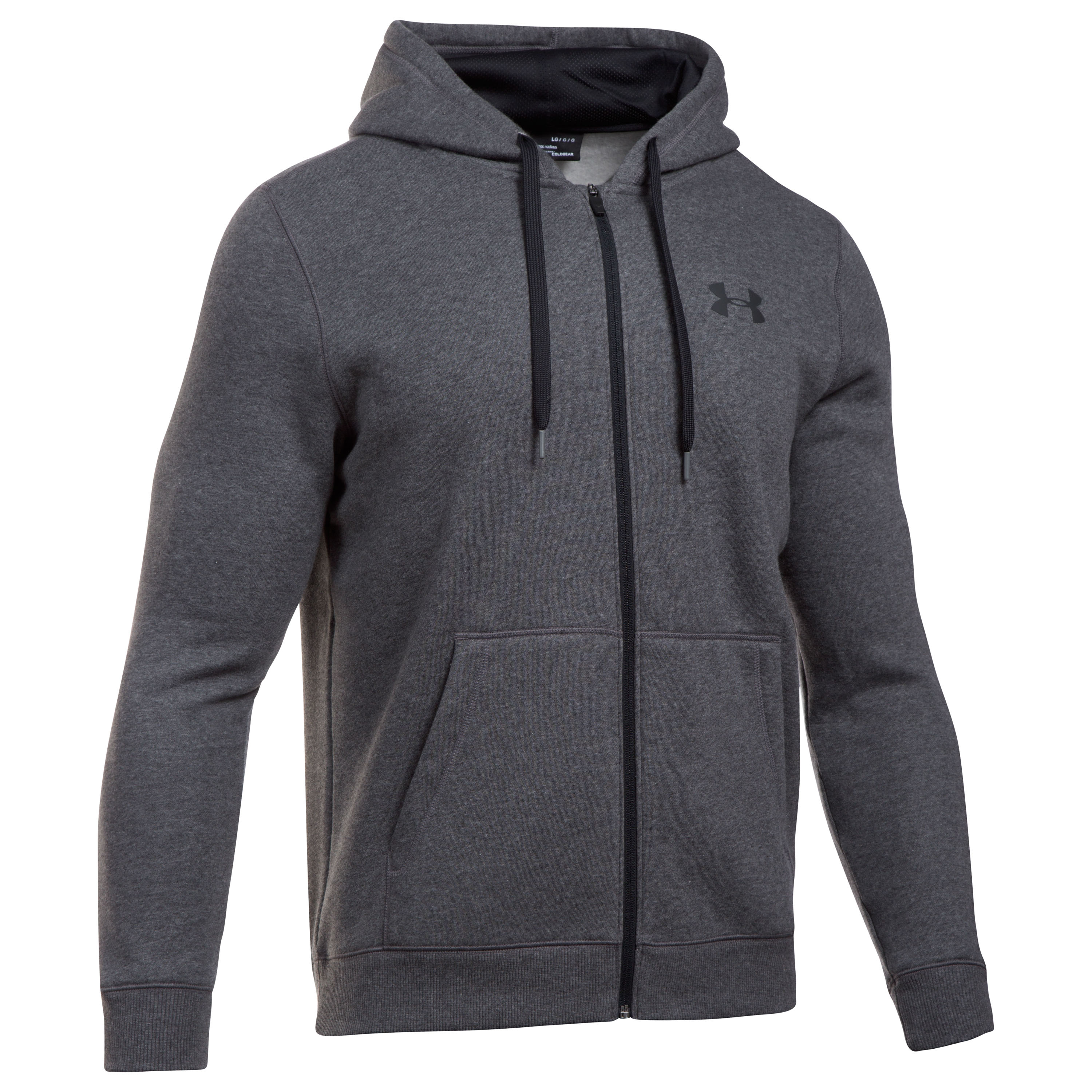 Under Armour Zip Hoodie Rival Fitted gray mottled