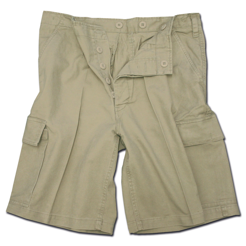 Moleskin Shorts Mil-Tec, khaki