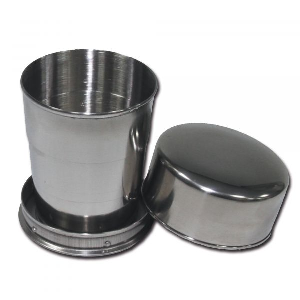 Stainless Steel Fold Cup 15 cl