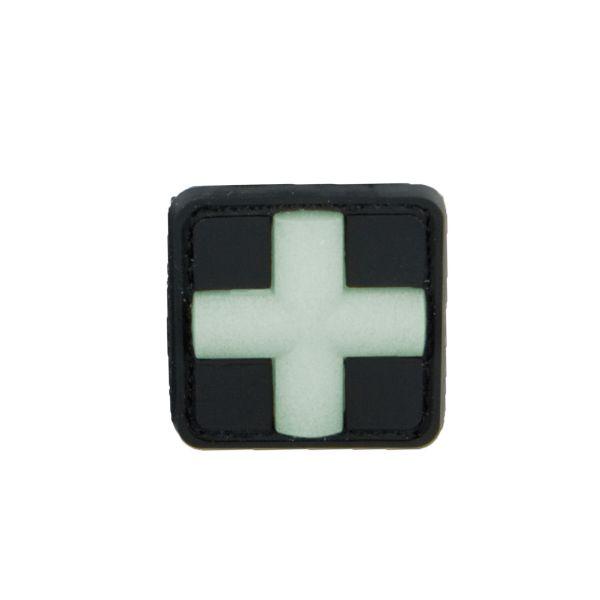 3D-Patch Red Cross Medic glow in the dark 25 mm