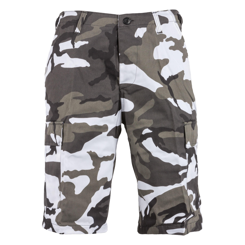 BDU Shorts urban-camo